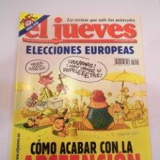 Coleccionismo de Revista El Jueves: REVISTA EL JUEVES NUMERO 1411. Lote 45473285