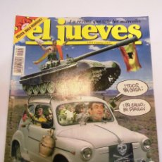 Coleccionismo de Revista El Jueves: REVISTA EL JUEVES NUMERO 1406. Lote 45473306