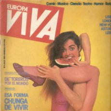 Coleccionismo de Revista El Jueves: EUROPA VIVA Nº 3 1985. Lote 45710278