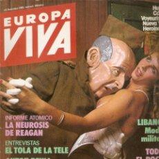 Coleccionismo de Revista El Jueves: EUROPA VIVA 1985. Lote 45710332