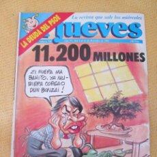 Coleccionismo de Revista El Jueves: REVISTA EL JUEVES Nº 758 - 1991. Lote 45891724