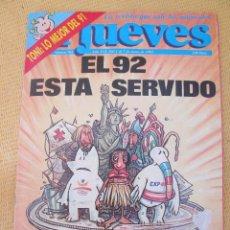 Coleccionismo de Revista El Jueves: REVISTA EL JUEVES Nº 762 - 1992. Lote 45891930