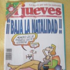 Coleccionismo de Revista El Jueves: REVISTA EL JUEVES Nº 858 - 1993. Lote 46042732