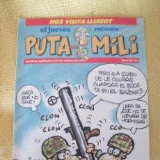 Coleccionismo de Revista El Jueves: REVISTA EL JUEVES PUTA MILI Nº14 - 1992 . Lote 46043967