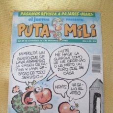Coleccionismo de Revista El Jueves: REVISTA EL JUEVES PUTA MILI Nº 22 - 1992 . Lote 46044107