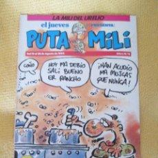Coleccionismo de Revista El Jueves: REVISTA EL JUEVES PUTA MILI Nº 8 - 1992 . Lote 46044251