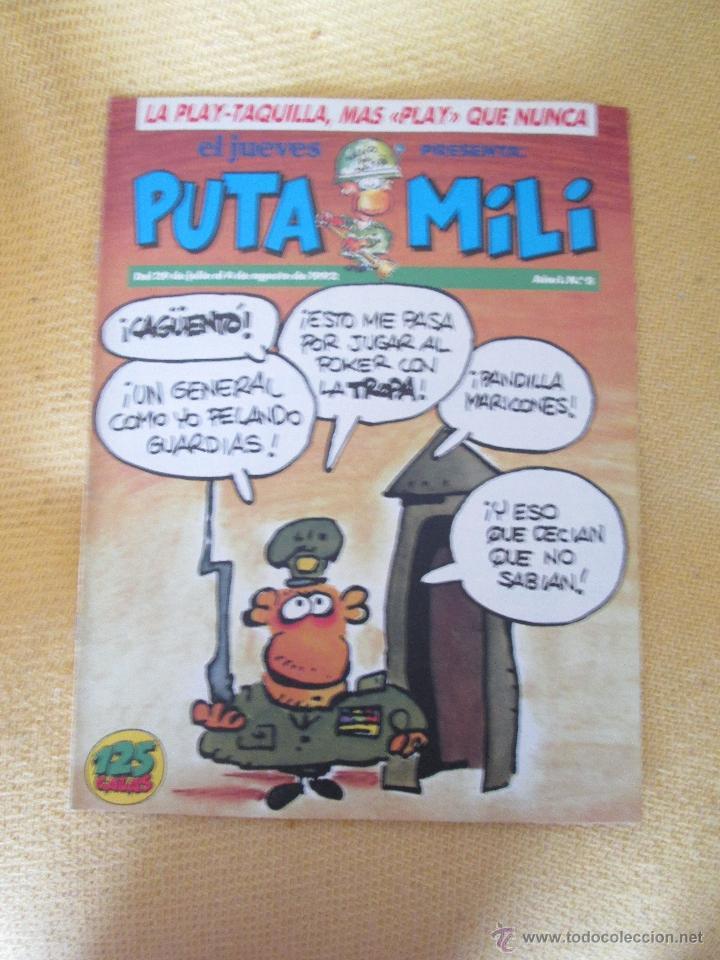 REVISTA EL JUEVES PUTA MILI Nº 5 - 1992 (Coleccionismo - Revistas y Periódicos Modernos (a partir de 1.940) - Revista El Jueves)