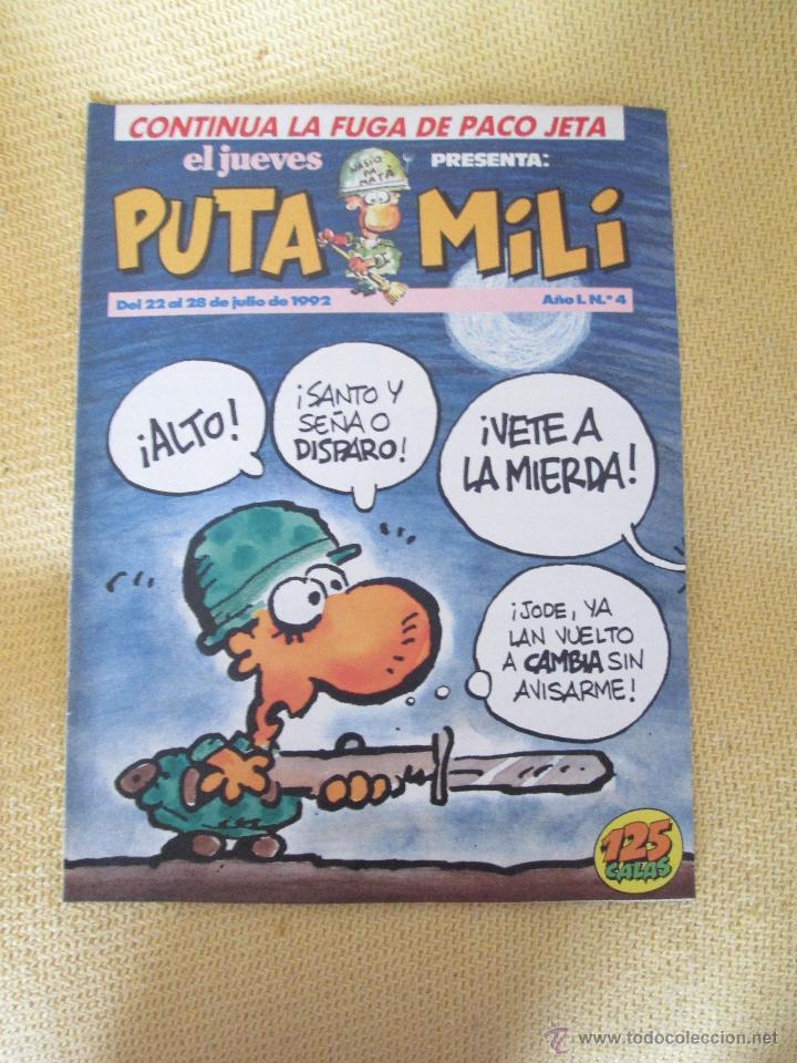 REVISTA EL JUEVES PUTA MILI Nº 4 - 1992 (Coleccionismo - Revistas y Periódicos Modernos (a partir de 1.940) - Revista El Jueves)