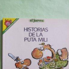 Coleccionismo de Revista El Jueves: EL JUEVES: COLECCION PENDONES DEL HUMOR Nº 57. HISTORIAS DE LA PUTA MILI. Lote 46323778