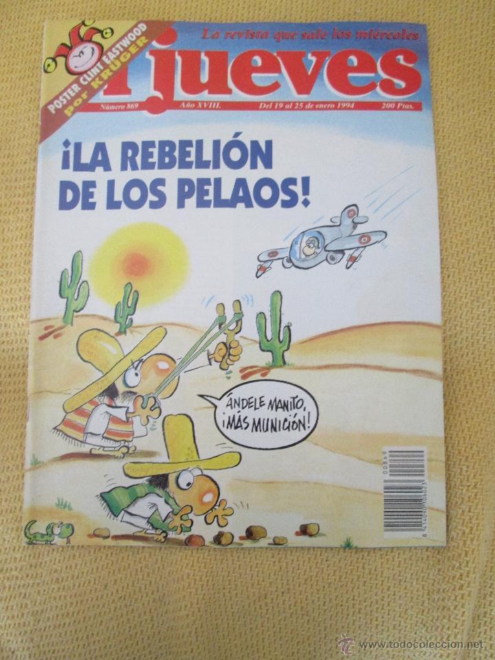 REVISTA EL JUEVES Nº 869 - 1994 (Coleccionismo - Revistas y Periódicos Modernos (a partir de 1.940) - Revista El Jueves)