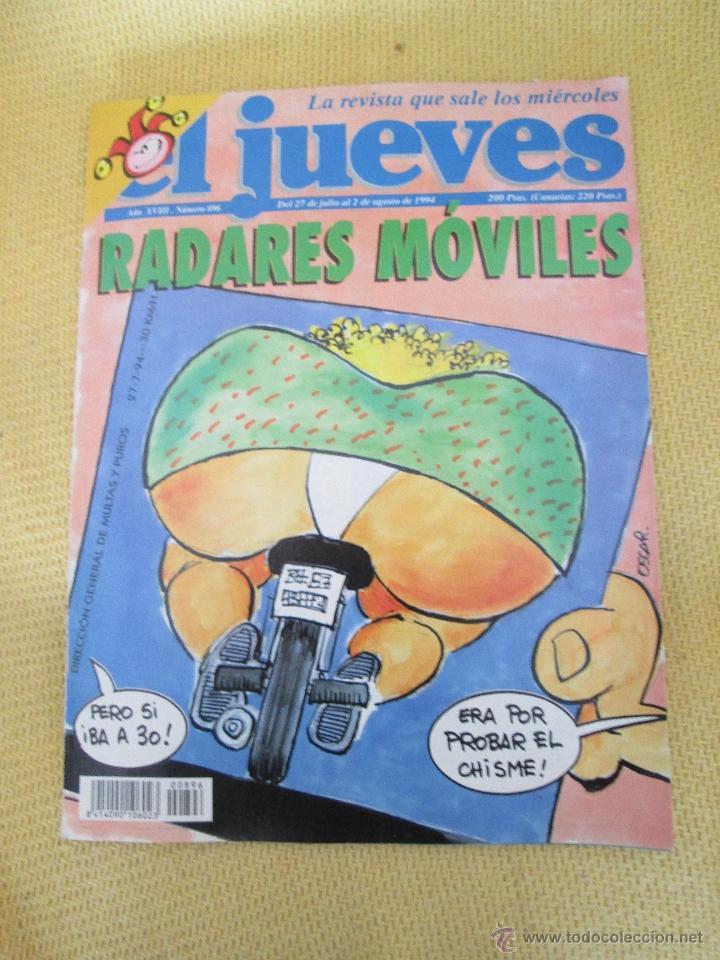 REVISTA EL JUEVES Nº 896 - 1994 (Coleccionismo - Revistas y Periódicos Modernos (a partir de 1.940) - Revista El Jueves)