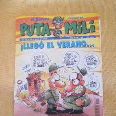Coleccionismo de Revista El Jueves: REVISTA EL JUEVES LA PUTA MILI Nº 104 - 1994. Lote 46453053