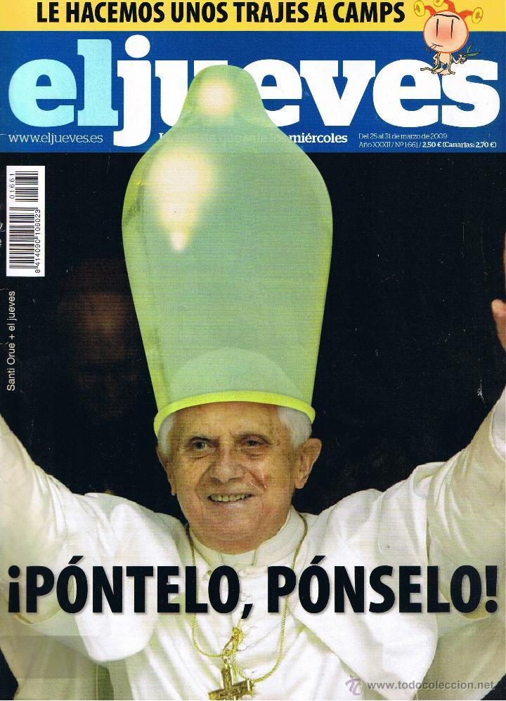 REVISTA EL JUEVES - Nº 1661 - MARZO 2009 (Coleccionismo - Revistas y Periódicos Modernos (a partir de 1.940) - Revista El Jueves)