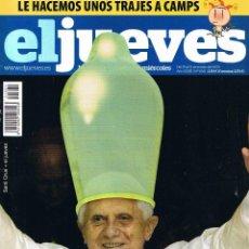 Coleccionismo de Revista El Jueves: REVISTA EL JUEVES - Nº 1661 - MARZO 2009. Lote 46809509