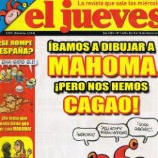 Coleccionismo de Revista El Jueves: REVISTA EL JUEVES - Nº 1498 - FEBRERO 2006. Lote 46809750
