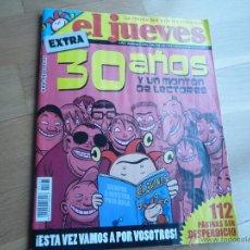 Coleccionismo de Revista El Jueves: REVISTA EL JUEVES Nº 1565,30 AÑOS.EXTRA. NUEVA.. Lote 47146350