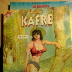 Coleccionismo de Revista El Jueves: KAFRE-DAS PASTORAS,ABULI-EL JUEVES PENDONES DEL HUMOR Nº110. Lote 95871850