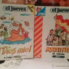 Coleccionismo de Revista El Jueves: PENDONES DEL HUMOR Nº 1 Y Nº2. Lote 47985859