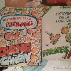 Coleccionismo de Revista El Jueves: PENDONES DEL HUMOR Nº 45 Y Nº 57 HISTORIAS DE LA PUTA MILI. Lote 49192087