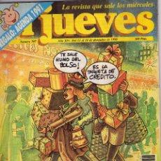 Coleccionismo de Revista El Jueves: EL JUEVES - 16.12.1990. Lote 48304378