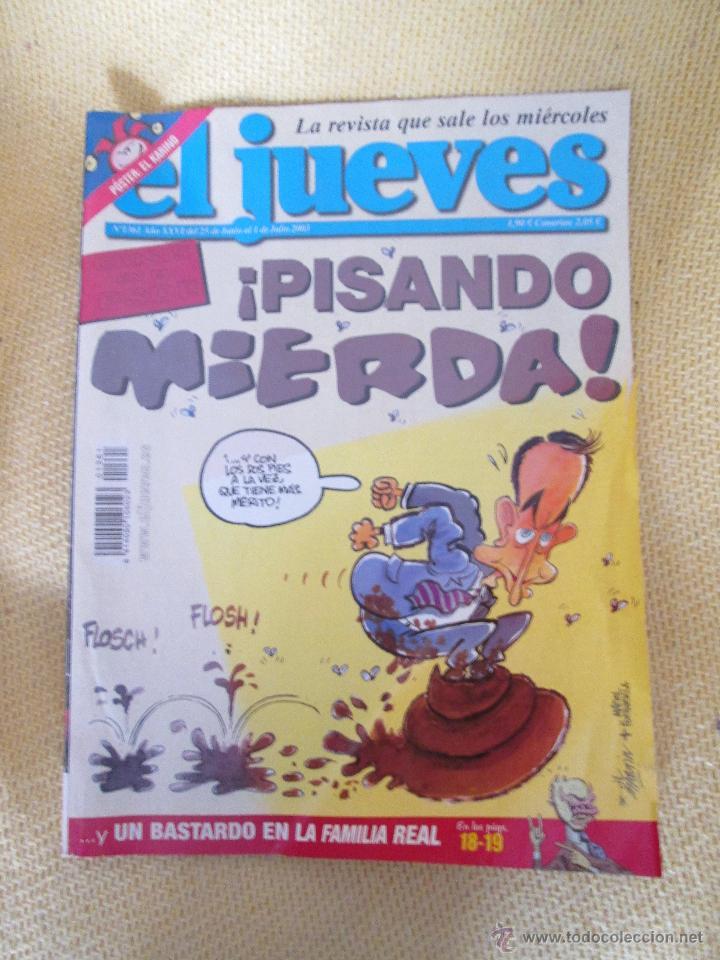REVISTA EL JUEVES Nº1361 AÑO 2003 (Coleccionismo - Revistas y Periódicos Modernos (a partir de 1.940) - Revista El Jueves)
