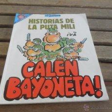 Coleccionismo de Revista El Jueves: REVISTA EL JUEVES LA REVISTA QUE SALE LOS MIERCOLES HISTORIA DE LA PUTA MILI CALEN BAYONETA. Lote 49195012