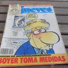 Coleccionismo de Revista El Jueves: REVISTA EL JUEVES LA REVISTA QUE SALE LOS MIERCOLES NUMERO 625. Lote 49195047