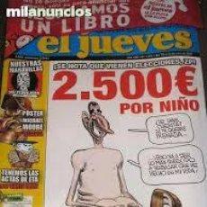 Coleccionismo de Revista El Jueves: * EL JUEVES * NUMERO CENSURADO 1573 * PLASTICO ORIGINAL SIN ABRIR !. Lote 49731883