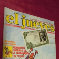 Coleccionismo de Revista El Jueves: EL JUEVES. AÑO II. Nº 49. 5 MAYO 1978. LA LIGA BIEN UNTADA SABE MEJOR.. Lote 50155308