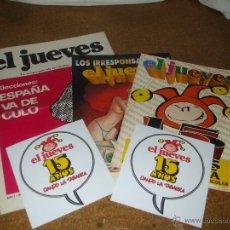 Coleccionismo de Revista El Jueves: REVISTA EL JUEVES EXTRA 15 AÑOS. Lote 50387690