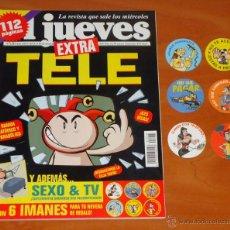 Coleccionismo de Revista El Jueves: EL JUEVES - EXTRA TELE - Nº 1245 - REVISTA. Lote 50438800