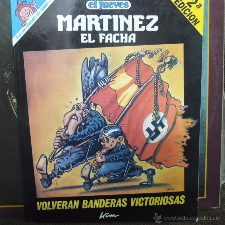 MARTINEZ EL FACHA-VOLVERAN BANDERAS VICTORIOSAS (Coleccionismo - Revistas y Periódicos Modernos (a partir de 1.940) - Revista El Jueves)