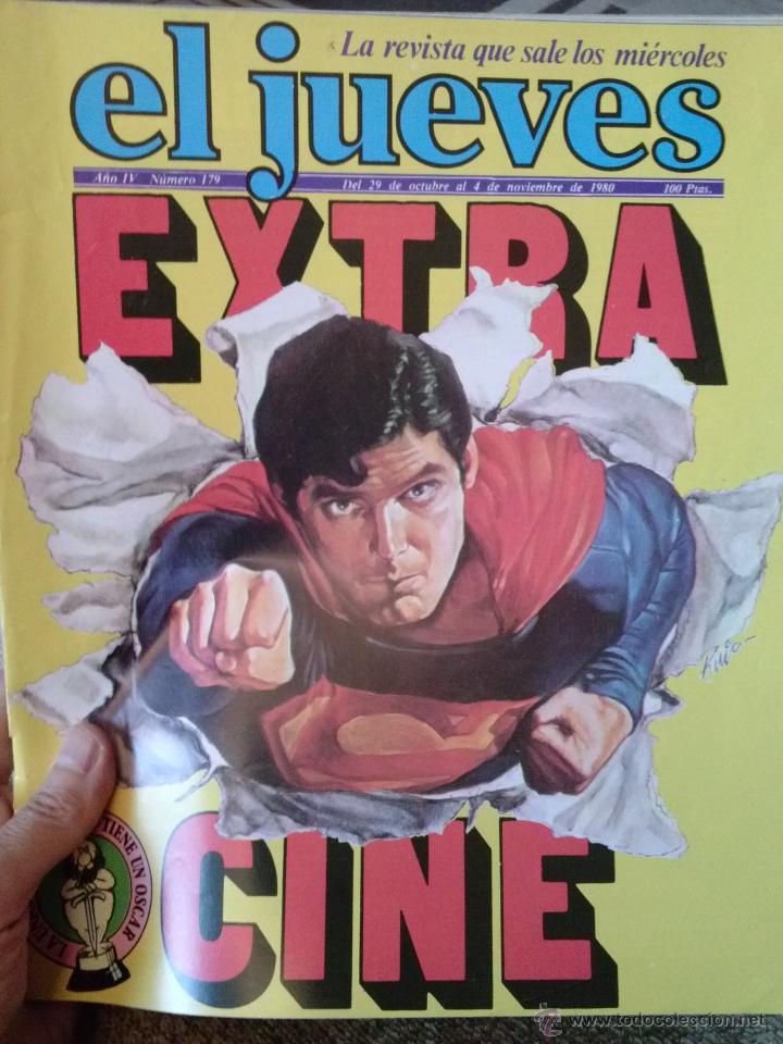 REVISTA. EL JUEVES EXTRA CINE (Coleccionismo - Revistas y Periódicos Modernos (a partir de 1.940) - Revista El Jueves)