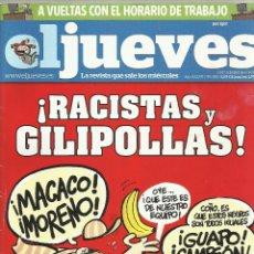 Coleccionismo de Revista El Jueves: REVISTA EL JUEVES NÚMERO 1928. Lote 52514423