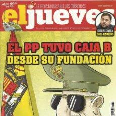 Coleccionismo de Revista El Jueves: REVISTA EL JUEVES NÚMERO 1981. Lote 52514781