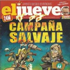 Coleccionismo de Revista El Jueves: REVISTA EL JUEVES NÚMERO 1982. Lote 52514822