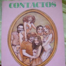 Coleccionismo de Revista El Jueves: CONTACTOS MARIEL Y ANDRES MARTIN SUPLEMENTO MENSUAL EL JUEVES. Lote 52595394