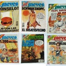 Coleccionismo de Revista El Jueves: 6 REVISTAS EL JUEVES 1991-1992. Lote 52778980