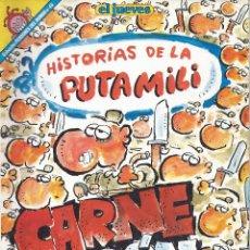Coleccionismo de Revista El Jueves: HISTORIAS DE LA PUTA MILI. CARNE D - EL JUEVES. COLECCION PENDONES DEL HUMOR Nº 45 - IVÁ - 1983. Lote 53021303