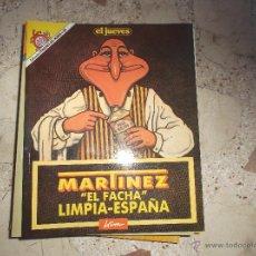 Coleccionismo de Revista El Jueves: PENDONES DEL HUMOR Nº 60, MARTINEZ EL FACHA LIMPIA -ESPAÑA , DE KIM, EL JUEVES. Lote 92682812