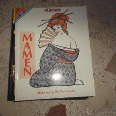Coleccionismo de Revista El Jueves: PENDONES DEL HUMOR Nº 80, MAMEN, DE MARIEL Y MANEL BARCELO, EL JUEVES. Lote 53077551