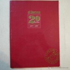 Coleccionismo de Revista El Jueves: EL JUEVES 20 AÑOS DE PORTADAS 1977-1997 - EDICIONES EL JUEVES. Lote 53404370