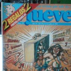 Coleccionismo de Revista El Jueves: REVISTA EL JUEVES N. 737 EXTRA. Lote 55009514
