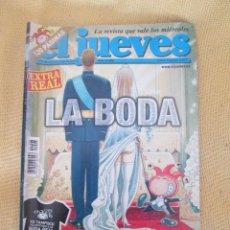 Coleccionismo de Revista El Jueves: REVISTA EL JUEVES Nº1408 AÑO 2004. Lote 55306295