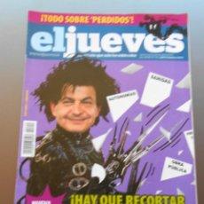 Coleccionismo de Revista El Jueves: REVISTA EL JUEVES ABRIL DE 2010. Lote 55388361