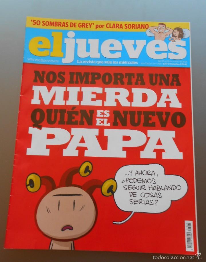 REVISTA EL JUEVES MARZO 2013 (Coleccionismo - Revistas y Periódicos Modernos (a partir de 1.940) - Revista El Jueves)