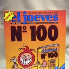 Coleccionismo de Revista El Jueves: REVISTA EL JUEVES, EXTRA NUMERO 100, MARZO 1979. Lote 55690783