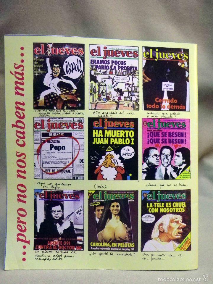 Coleccionismo de Revista El Jueves: REVISTA EL JUEVES, EXTRA NUMERO 100, MARZO 1979 - Foto 3 - 55690783