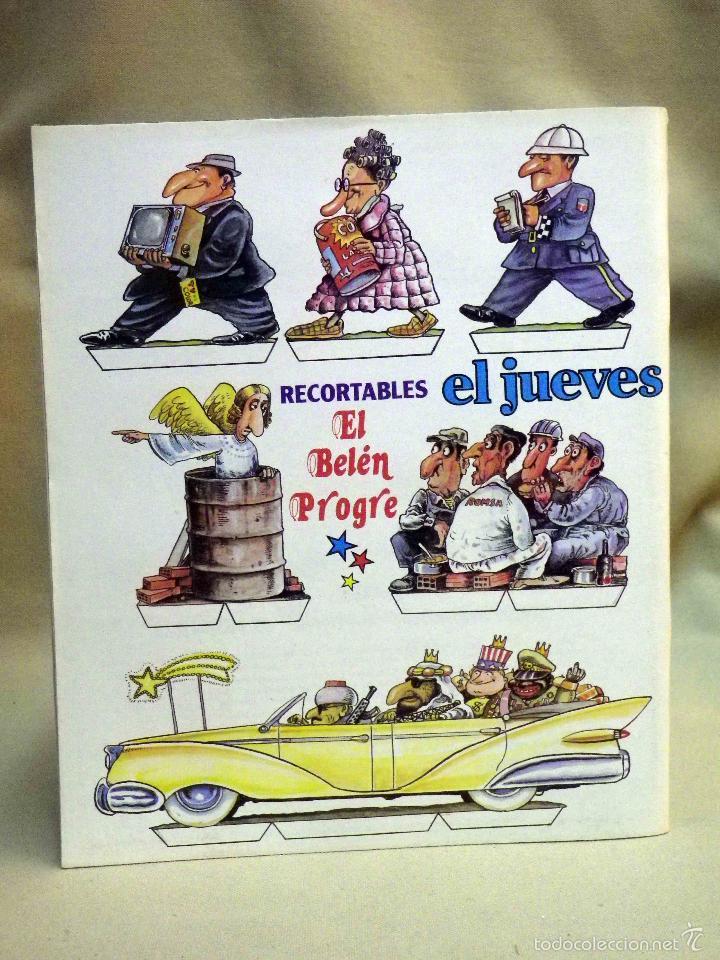 Coleccionismo de Revista El Jueves: REVISTA EL JUEVES, EXTRA DE NAVIDAD, NUMERO 185, MARZO 1980 - Foto 3 - 55690854