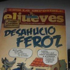 Coleccionismo de Revista El Jueves: REVISTA EL JUEVES N. 1851. Lote 56101395